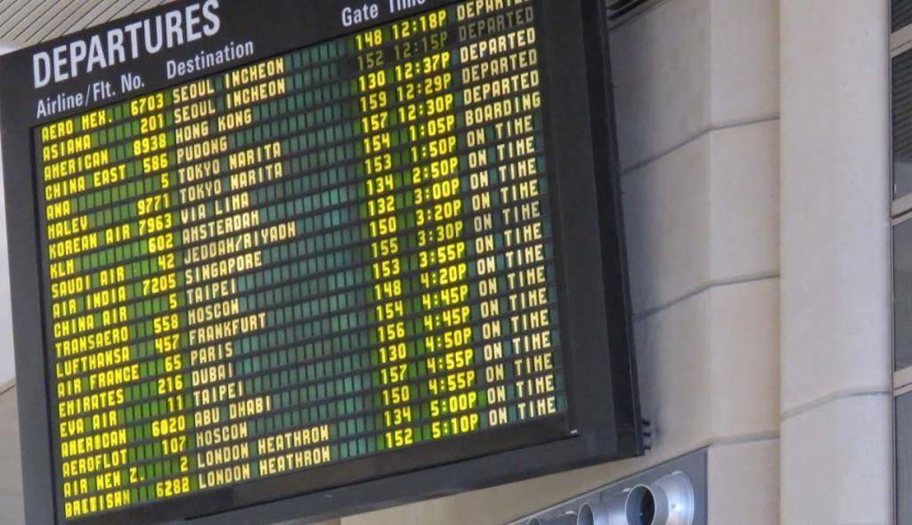 Путеводитель по аэропорту лос-анджелес | информация для туристов