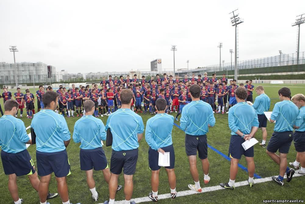 Обучение футболу в испании . испания по-русски - все о жизни в испании