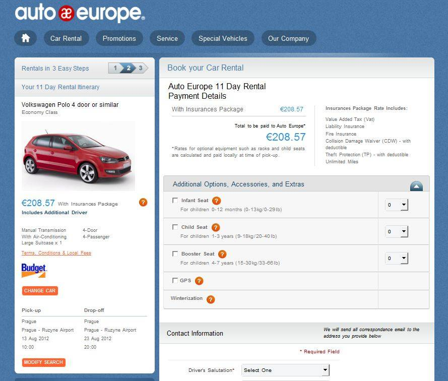 Как в чехии взять в аренду авто и можно ли арендовать машину без залога и франшизы?