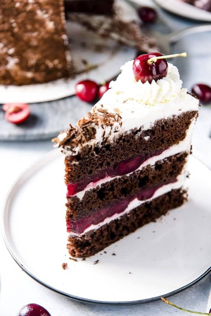 Торт «черный лес» («шварцвальд») – 5 вкусных рецептов | торты и пироги - популярные рецепты приготовления