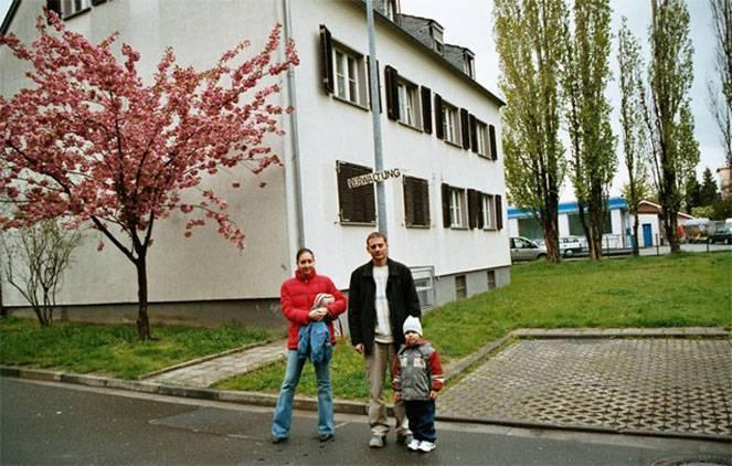Земли германии для поздних переселенцев- распределение в восточную или западную часть