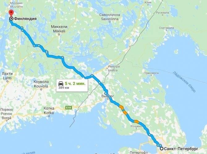 В финляндию на машине: всё про автопутешествие в финляндию