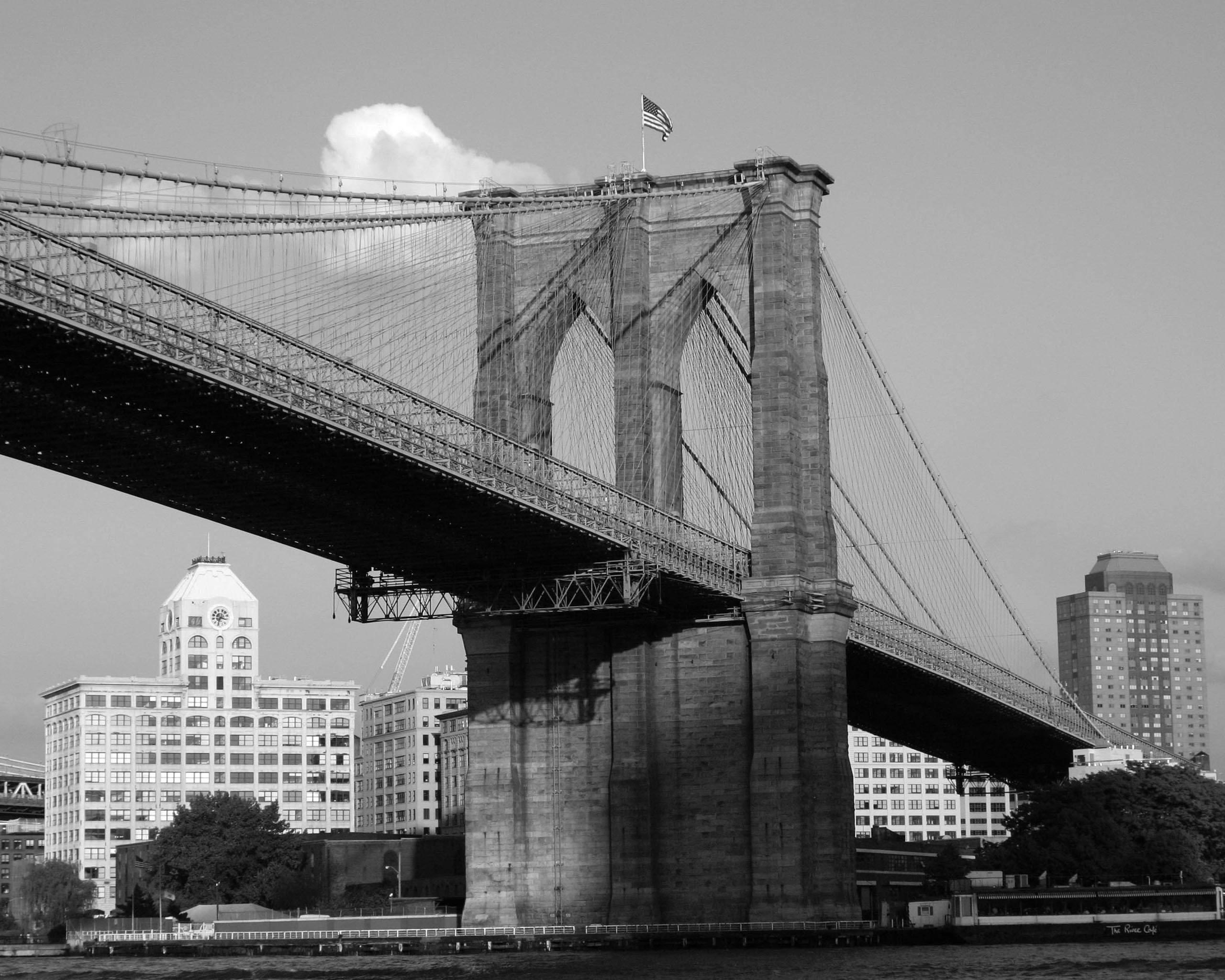 Бруклинский мост – индустриальное чудо