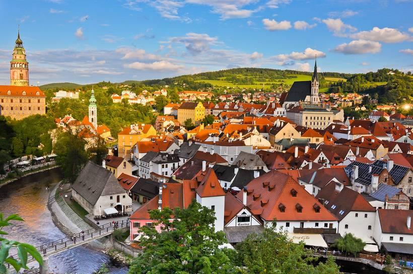 Экскурсия в чешский крумлов и замок глубока над влтавой из праги отзывы