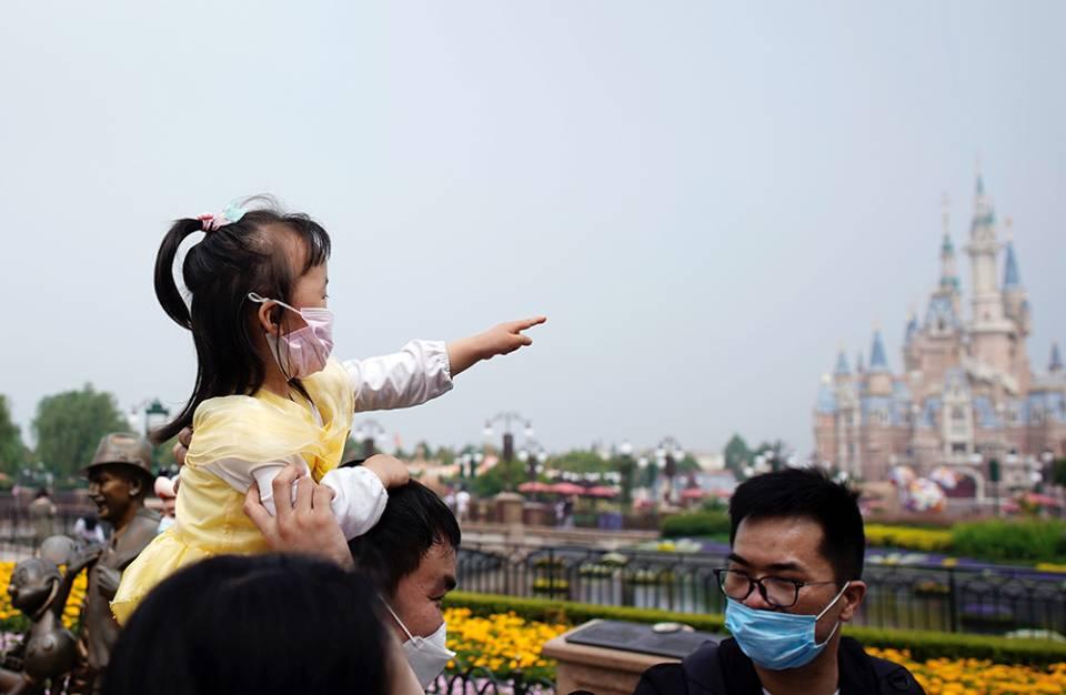 Диснейленд в шанхае закрыт из-за угрозы коронавируса