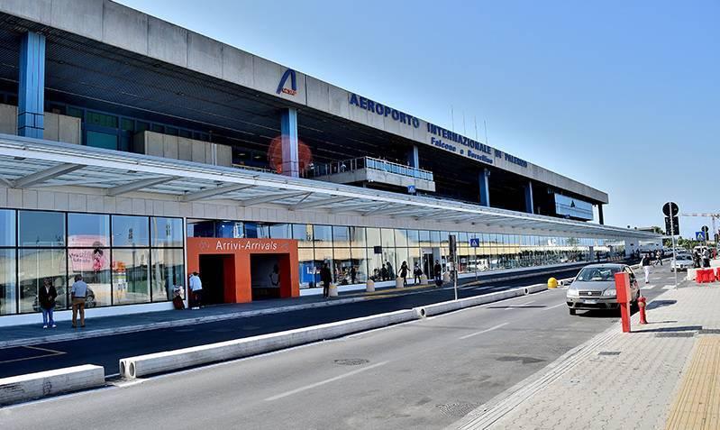 Международные и региональные аэропорты Сицилии