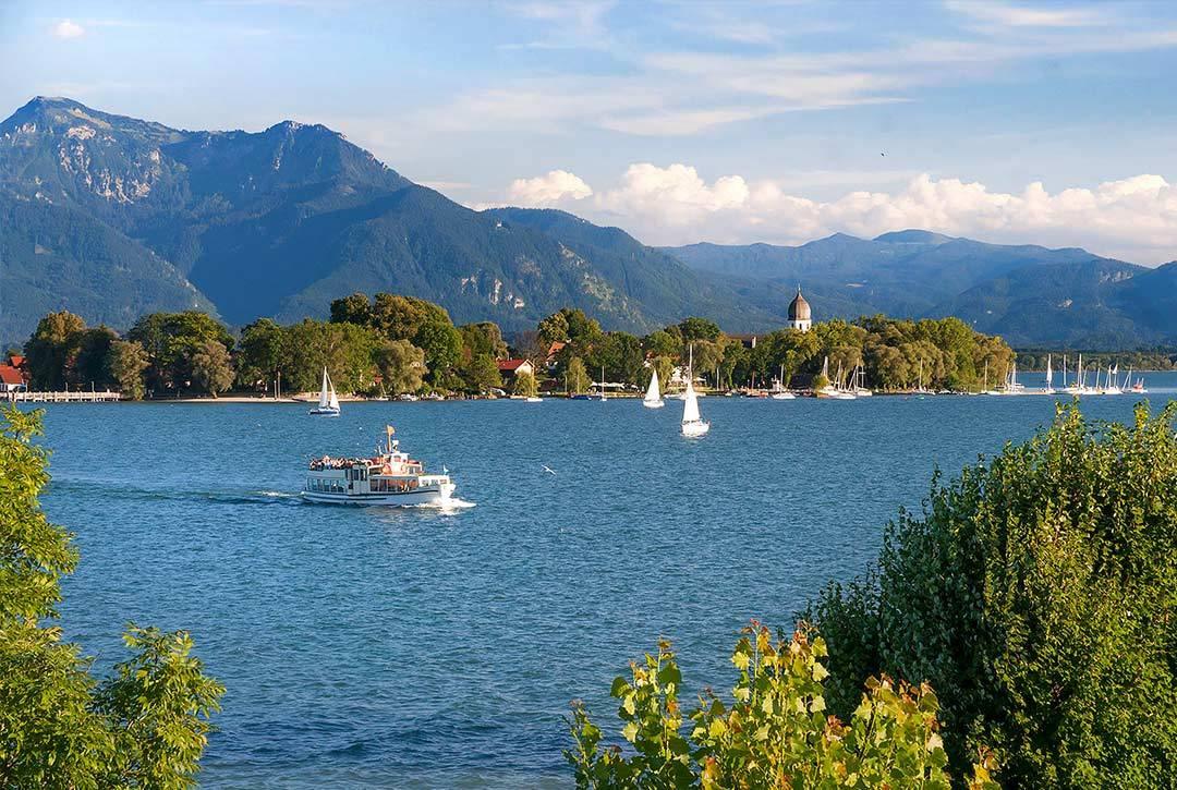 Озеро кимзее в баварии – красота и отдых на любой вкус – так удобно!  traveltu.ru