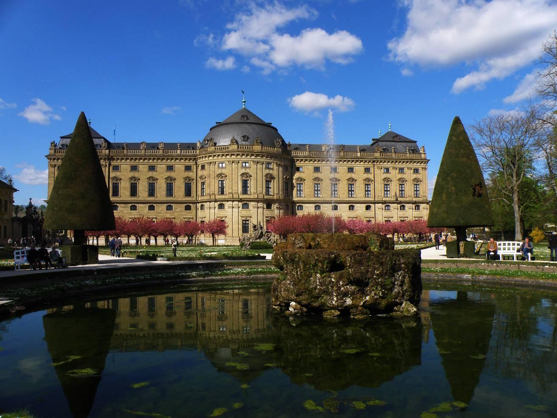 Вюрцбург – промышленный город баварии с богатой историей