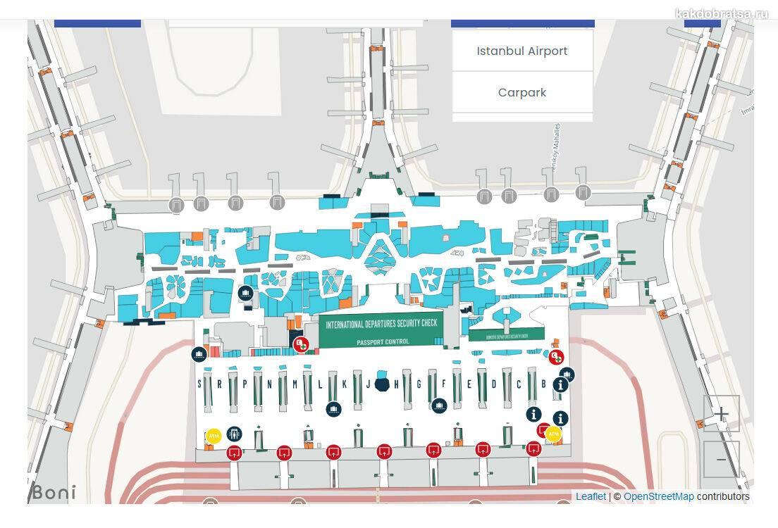 Международные аэропорты стамбула: схемы терминалов, онлайн табло, услуги,