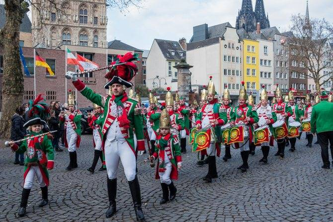 Кельнский карнавал – 2019 в германии: традиции
