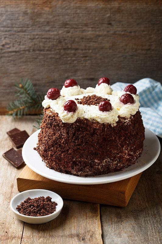Немецкий торт «шварцвальд» или «черный лес» в домашних условиях с вишней: рецепты приготовления, отзывы, интересные факты
