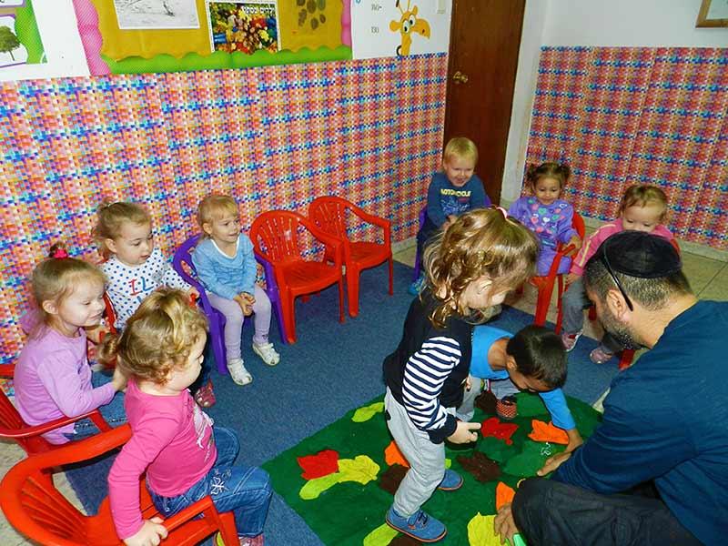 Детские сады в израиле: система дошкольного образования
