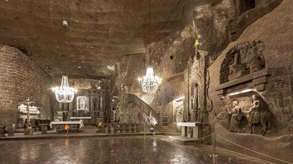 Соляные копи велички: тайны неизведанного подземного мира