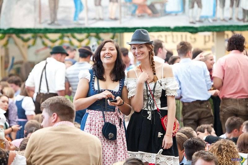Фестиваль «октоберфест» в германии: фото и описание