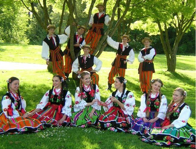 Польские народные танцы, история и описание, традиции
