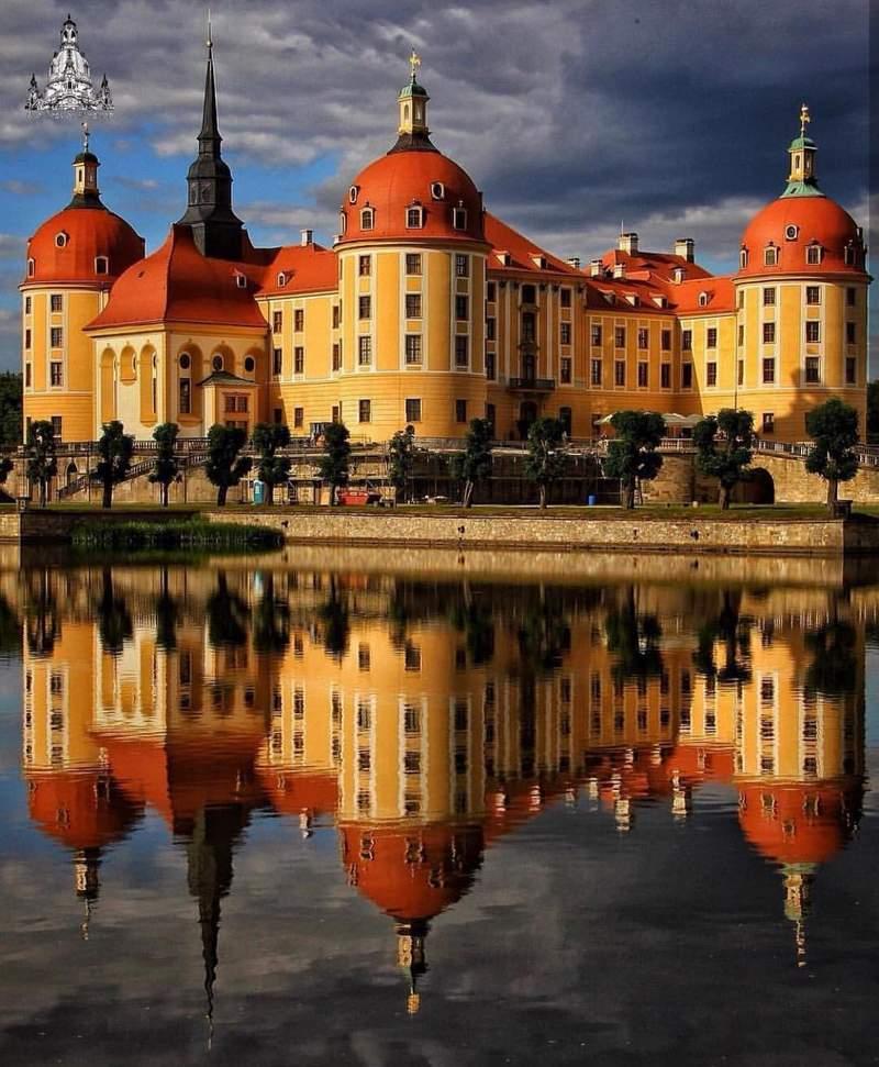 Сказочный замок морицбург: архитектура замка и достопримечательности