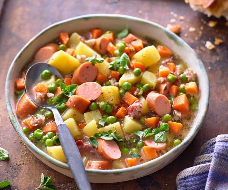 Немецкий суп: ингредиенты, рецепт с фото, особенности приготовления
