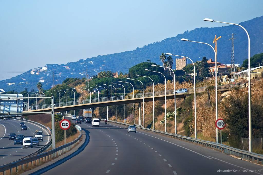 Скорость движения на испанских дорогах / дороги испании - поездка на автомобиле по испании / испания для всех на одном портале: новости, отдых, работа, недвижимость в испании