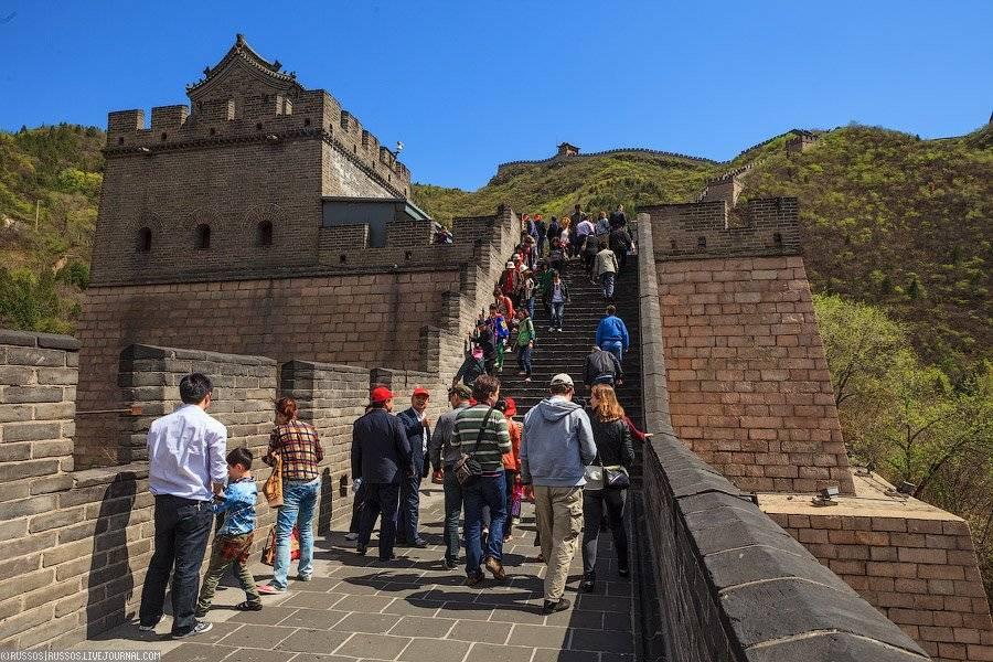 Великую Китайскую стену частично открыли для посетителей