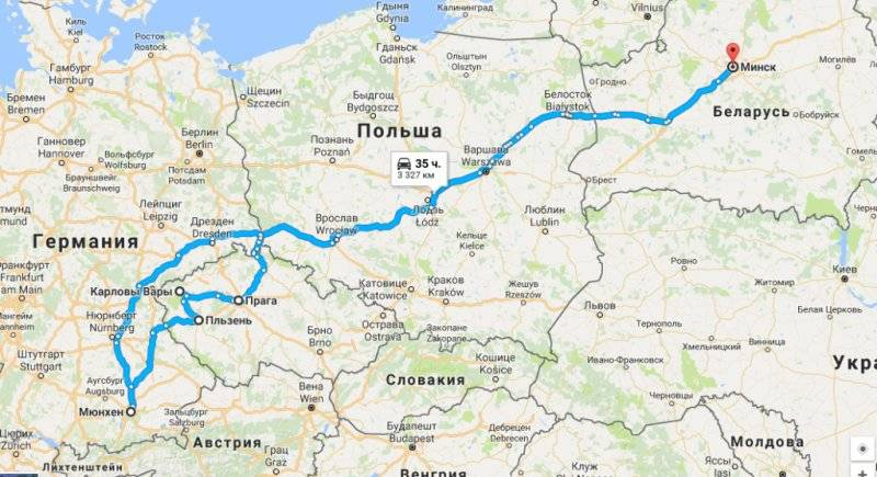 Как лучше и экономичнее проехать по маршруту прага-вена-мюнхен-прага?