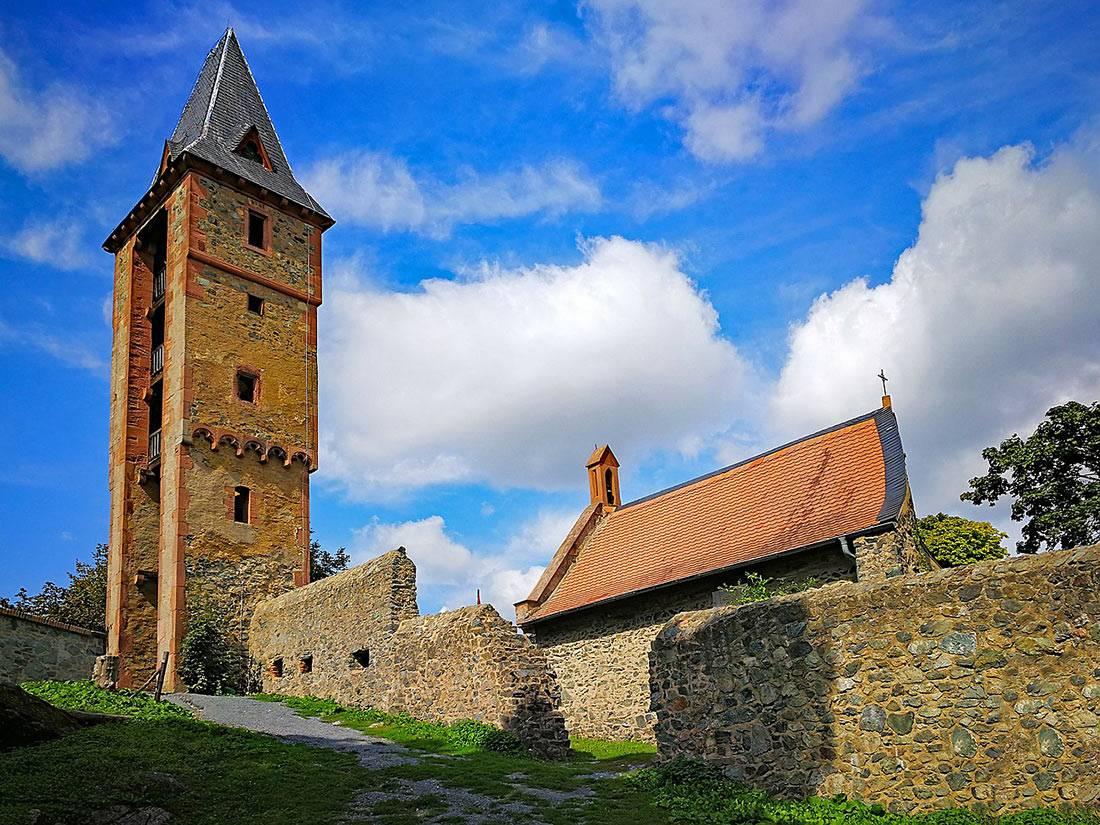 Призраки замков германии — таинственная белая леди