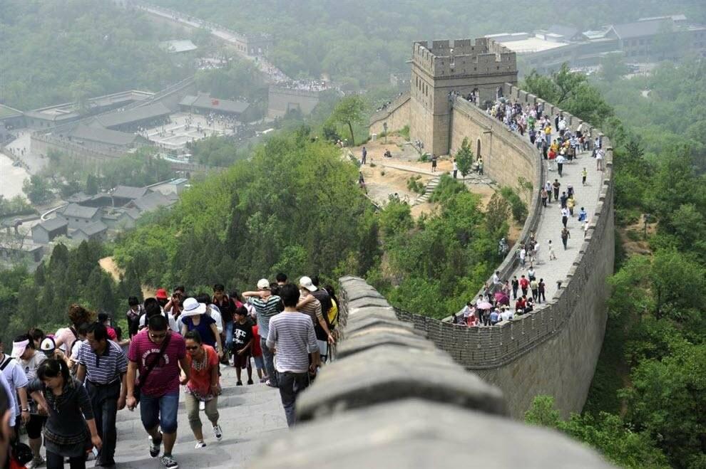 Участки великой китайской стены – 10 самых популярных участков китайской стены