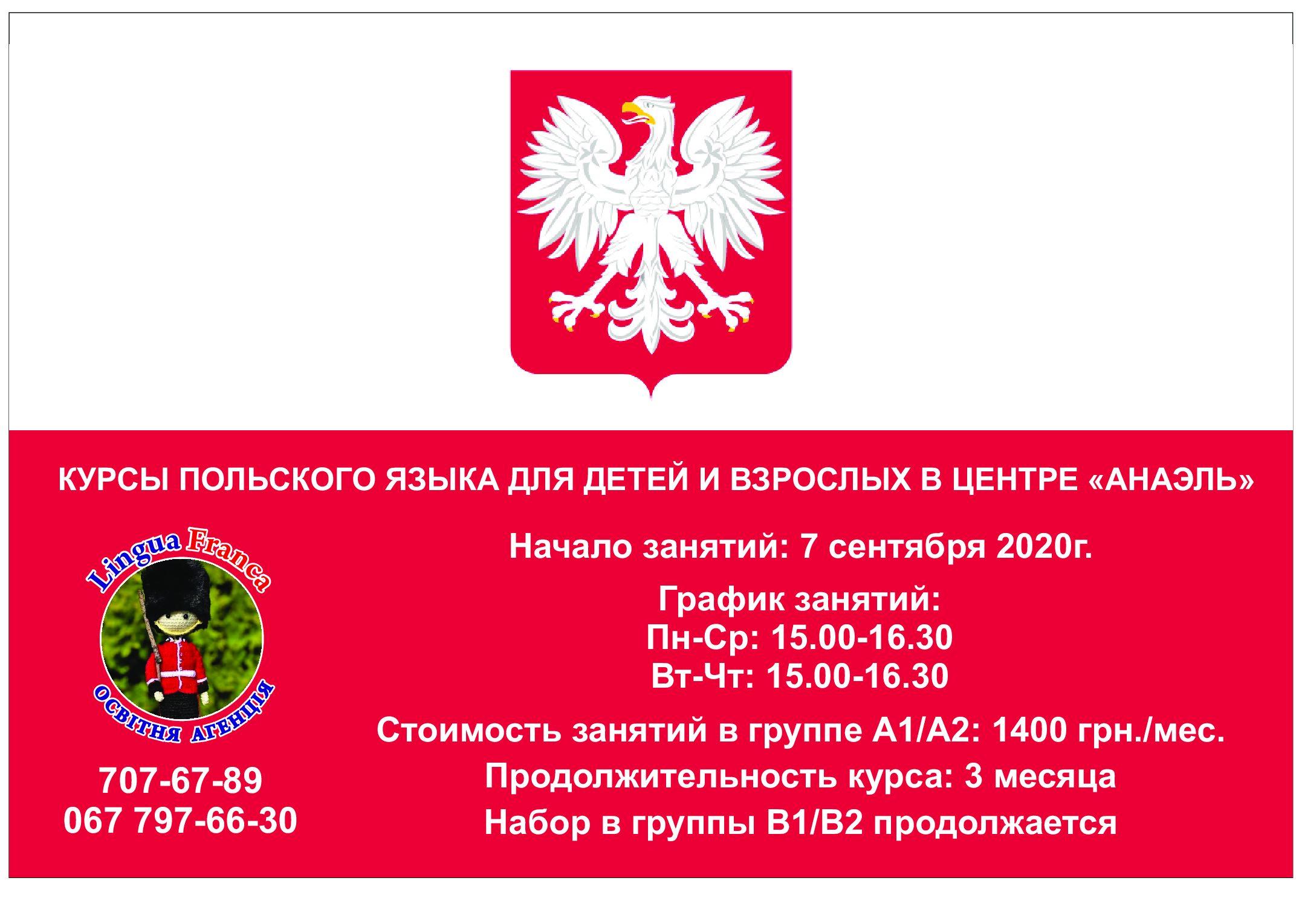 Бесплатные курсы польского языка для иностранцев и всё, связанное с этим