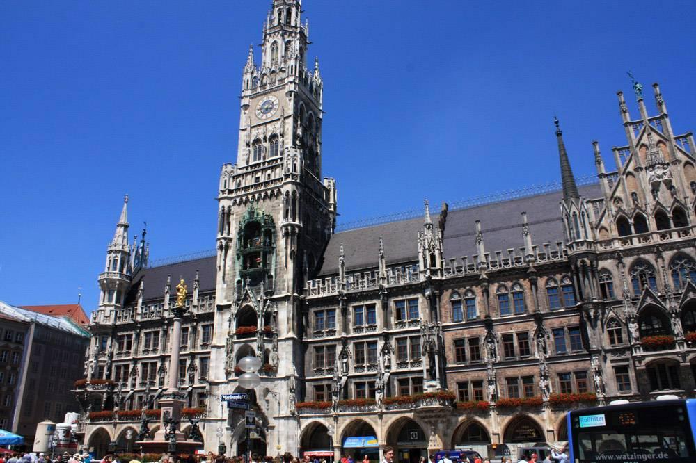 Ратуши в германии - фото, описание ратуш в германии