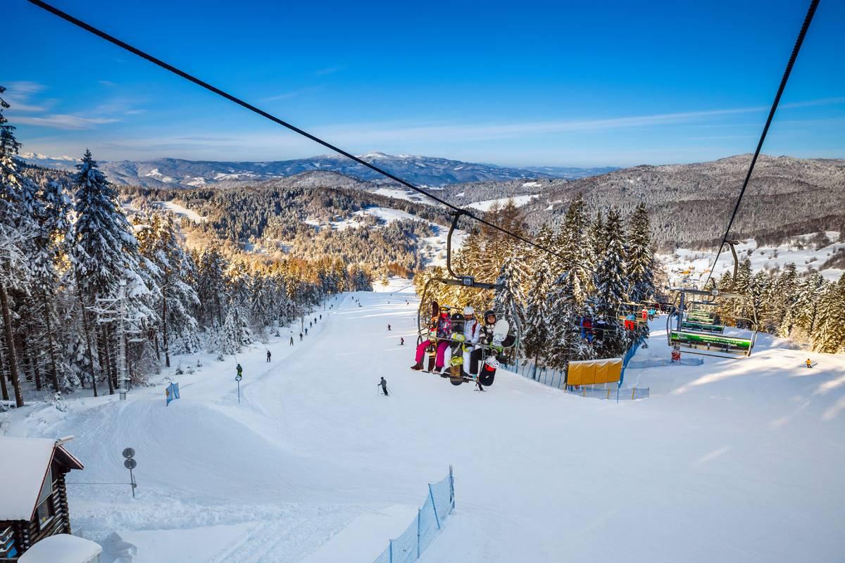 Потрясающий горнолыжный курорт карпач в польше
