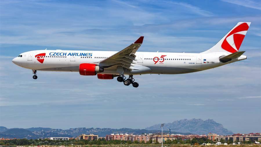 Популярная чешская авиакомпания «чешские авиалинии»