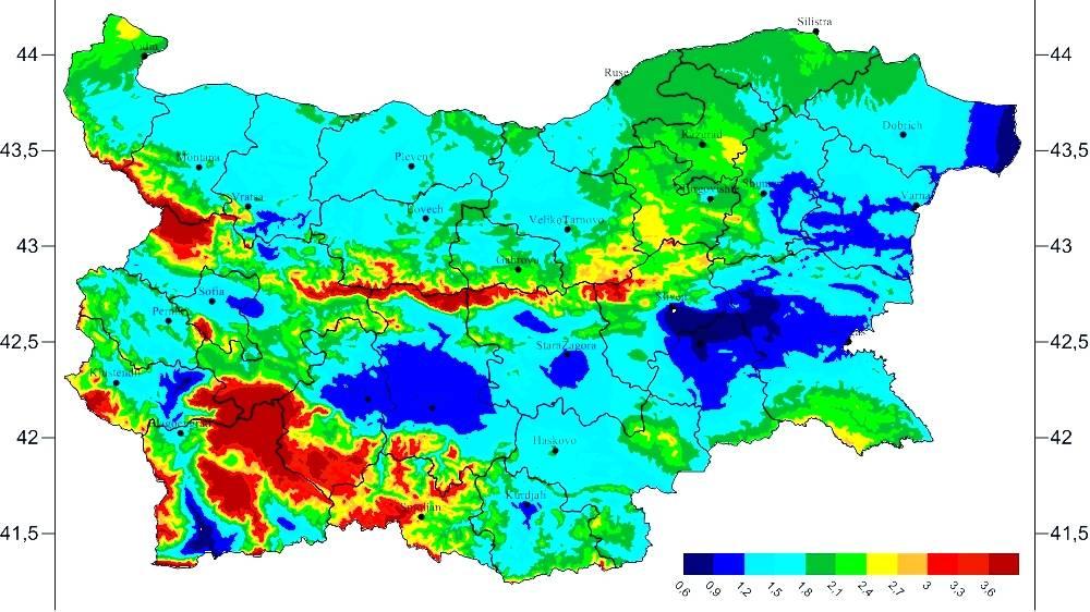 Погода в болгарии по месяцам, архив погоды в болгарии