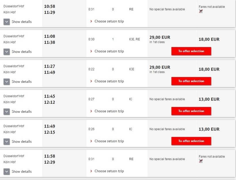 Шатл в аэропорту дюссельдорф-веце в дюссельдорф и кельн или ж/д?