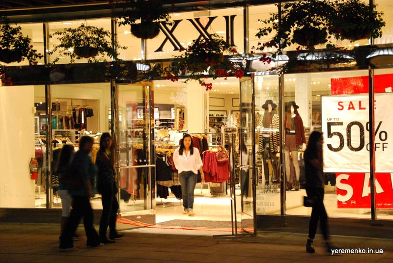 Шопинг в европе: бренды, распродажи, аутлеты