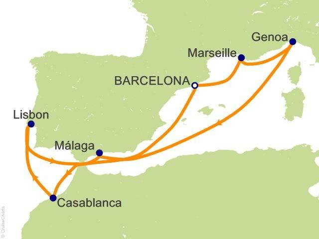 Расстояние от португалии до барселоны (карта на русском языке, как добраться)