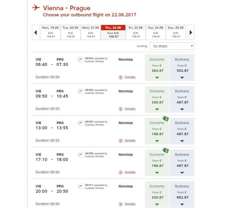 Прага - вена: как добраться лучше всего, расстояние
