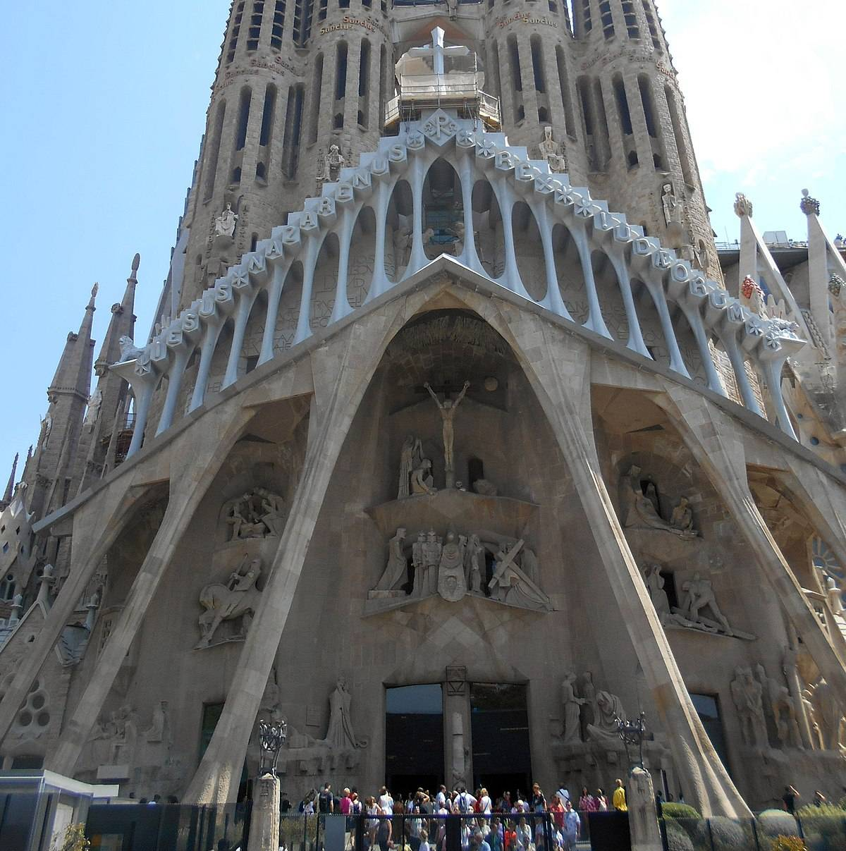 Храм святого семейства - шедевр антонио гауди