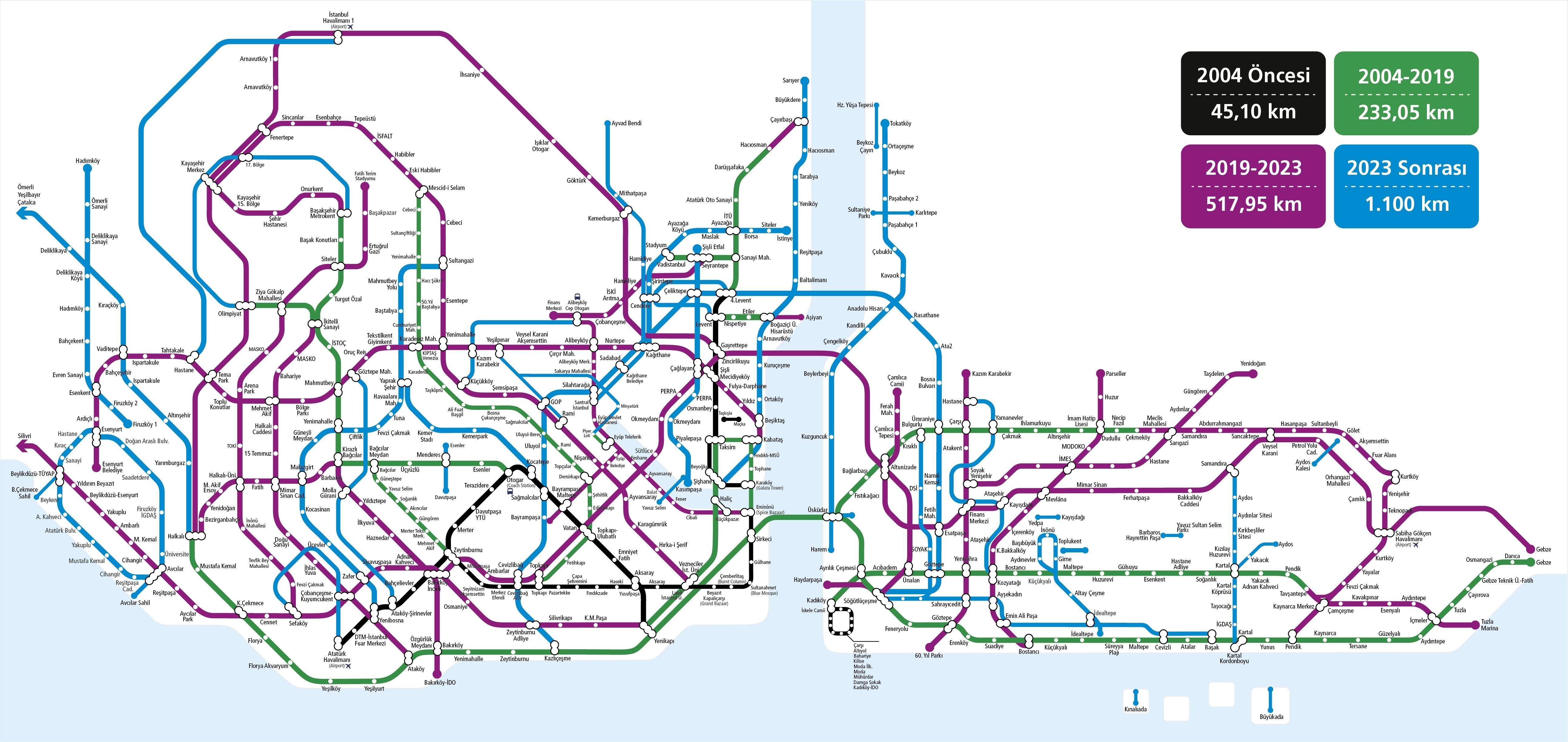 Все, что туристу нужно знать о метро стамбула: схема, расписание, стоимость проезда