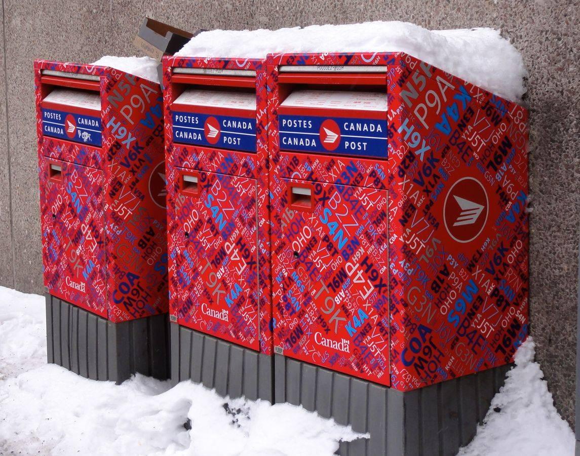 Почта Канады: правила работы коронованной службы