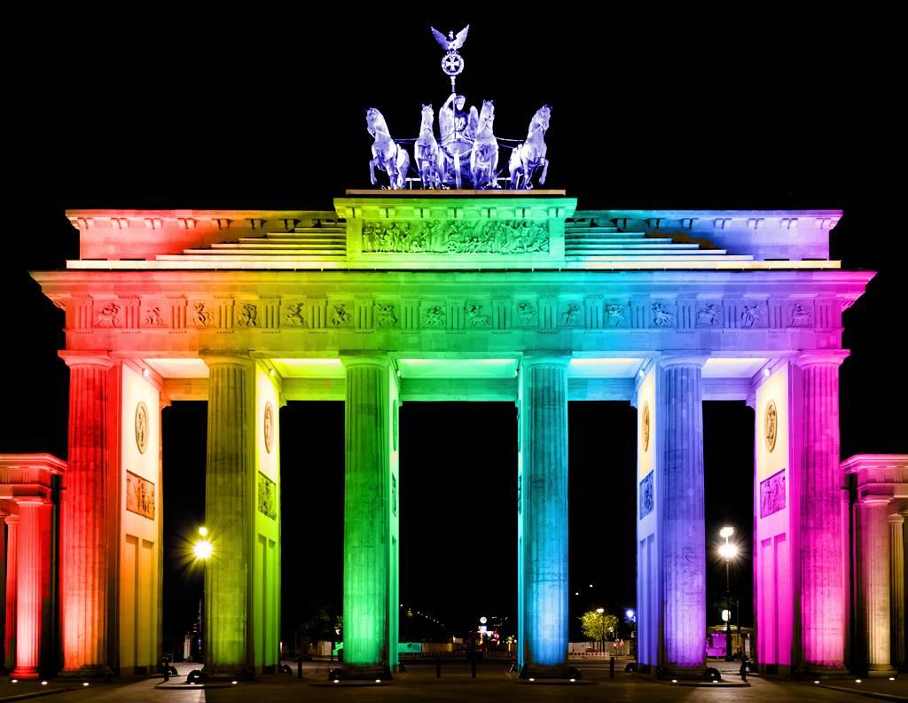 Бранденбургские ворота – символ силы и величия германии