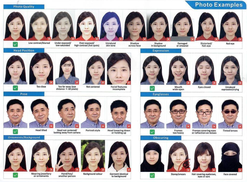 Требования к фото на визу в китай в 2021 году