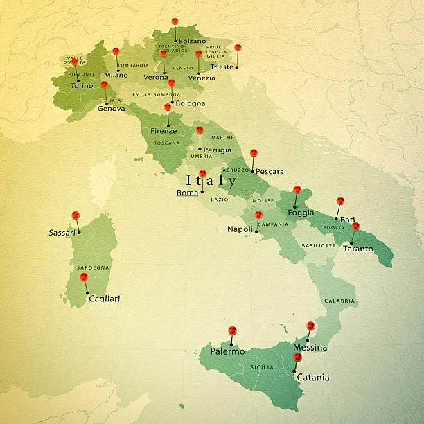 Все международные аэропорты италии