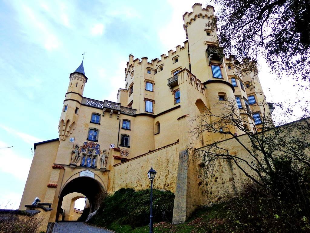 Как самому посетить баварский замок хоэншвангау