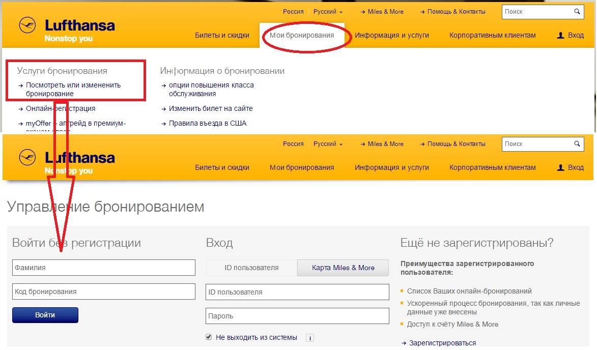 Как пройти регистрацию на самолет люфтганза через интернет и в аэрогавани