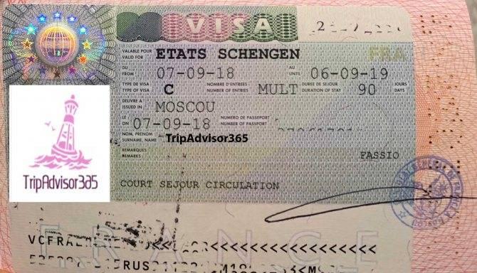 Франция : необходимо оформить шенген в посольстве, визовом центре или турфирме
