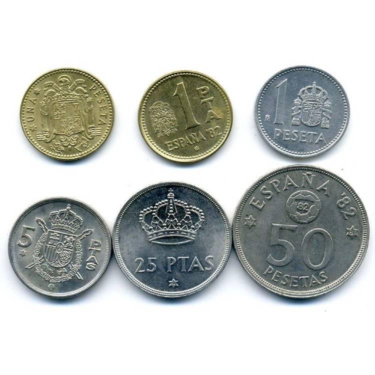 Серебряная монета испании: разновидности и описание