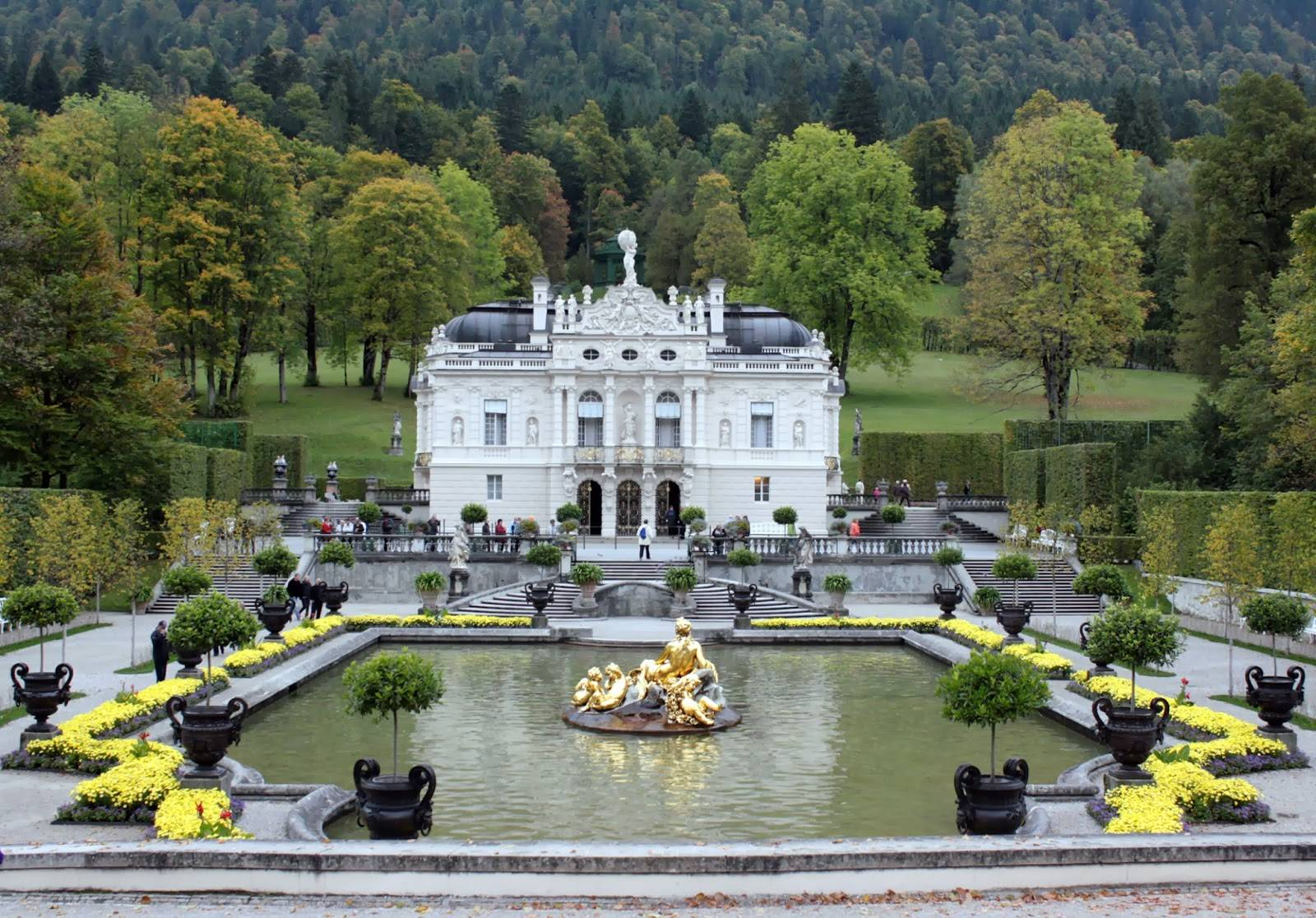 Замок линдерхоф в баварии, история и архитектура
