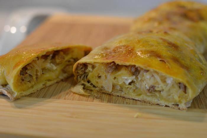 Австрийский штрудель: пошаговое описание рецепта, особенности приготовления, фото - samchef.ru