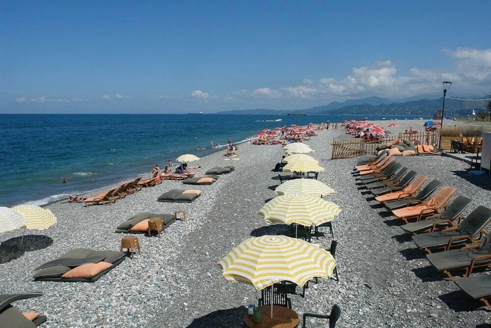 Курорты Грузии для пляжного отдыха