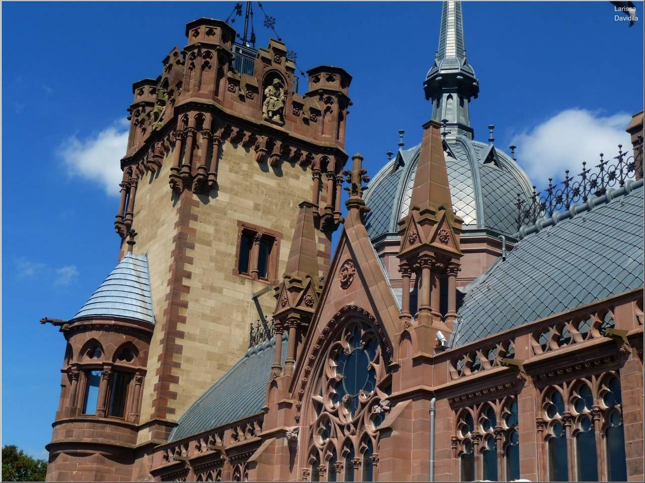 Замок драхенбург: роскошная сказка вестфалии
