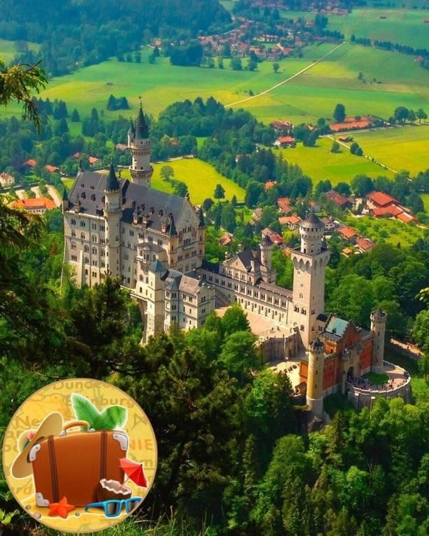 Фотоотчет: замок нойшванштайн - путешествия с детьми
